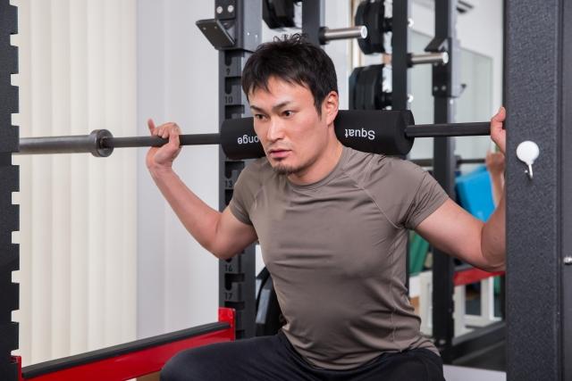 筋肉がつかないと思い込む男性