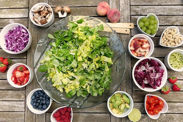 体脂肪率を落とすための食事