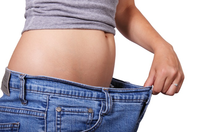 MCTオイルの効果で痩せた女性